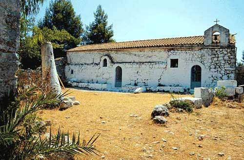The Church of Ayios Ioannis -