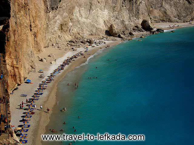PORTO KATSIKI BEACH - Porto Katsiki, the best known beach, is today considered one of the most outstanding in the whole of Europe. This is a beach of exceptional beauty, famed the world over.