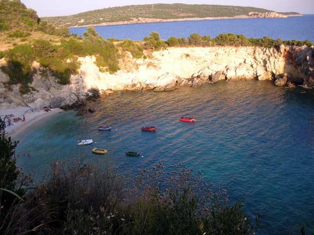 Kastri Camping Camping In Kastri Lefkada Greece