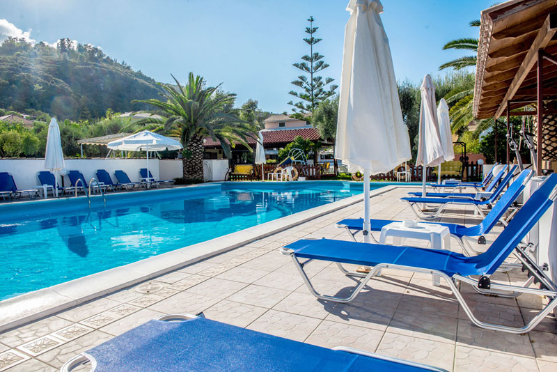 Pool Photo Alexaria Holidays Apartments Agios Ioannis Lefkada CLICK TO ENLARGE