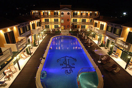 CAPTAIN STAVROS HOTEL IN  Nidri LEFKADA IONIAN ISLANDS